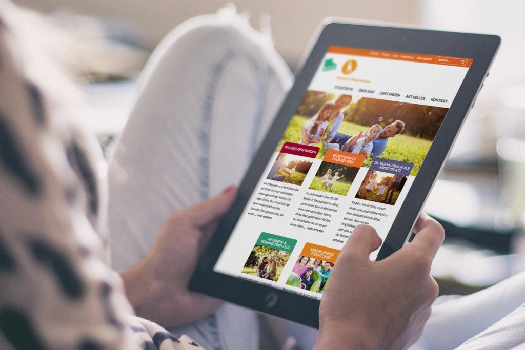 Netzwerk Pflegefamilien – Neue Webseite